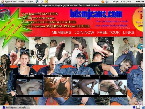 Bdsmjeans.com Account Creator