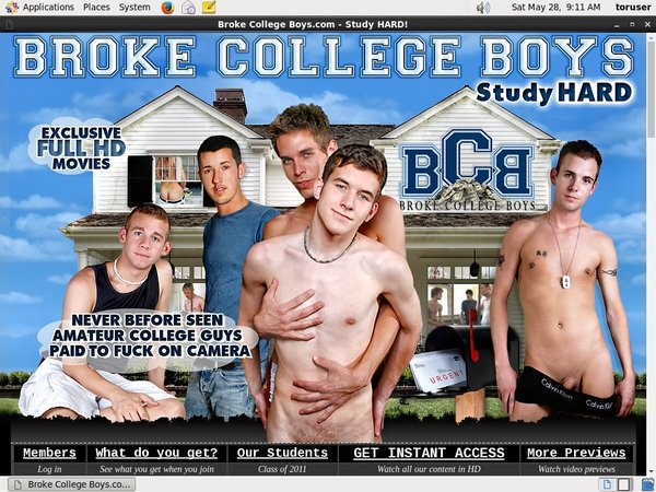 Broke College Boys User And Password