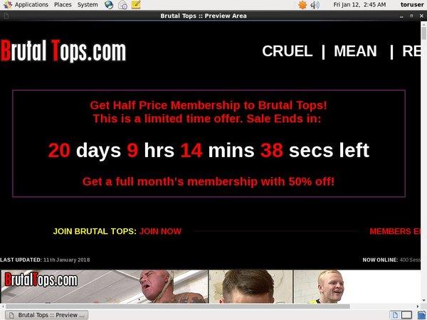 Brutaltops.com Special Discount