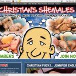 Christian's Shemales Premium Logins