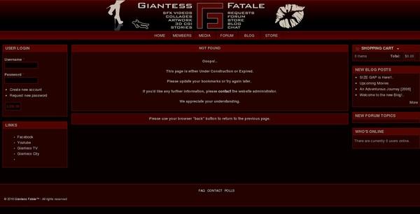 Free Giantess Fatale Codes
