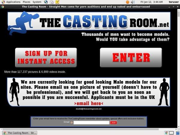Free Passwords Thecastingroom.net