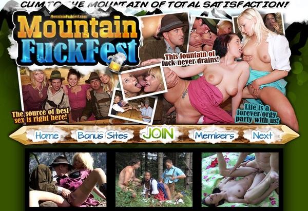 Mountain Fuck Fest Get An Account
