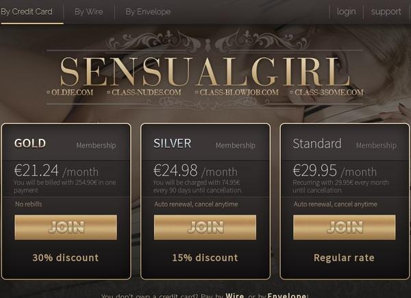 Sensual Girl Bezahlen
