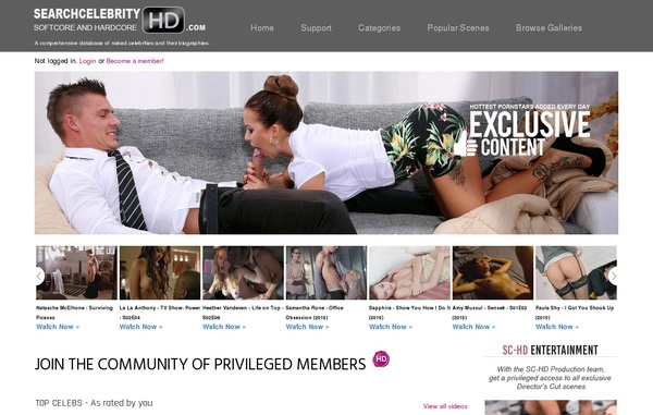 Sign Up For Search Celebrity HD