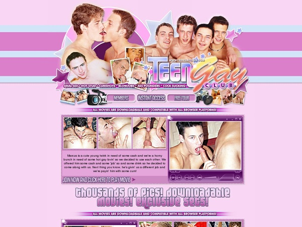 Teen Gay Club Join By Direct Pay