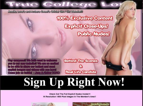 Truecollegelove.com With Online Check