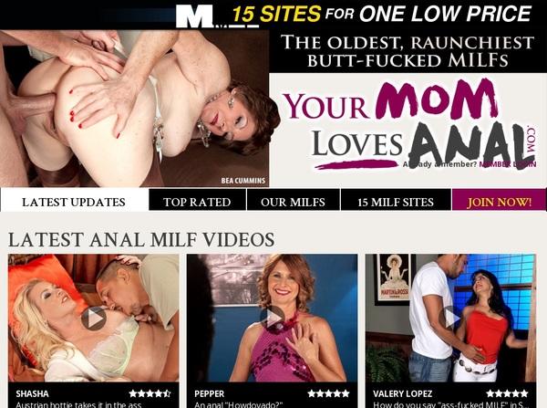 Your Mom Loves Anal Register Form