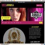Miss AnniKa Acc