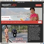 Naughty Lada Login Account