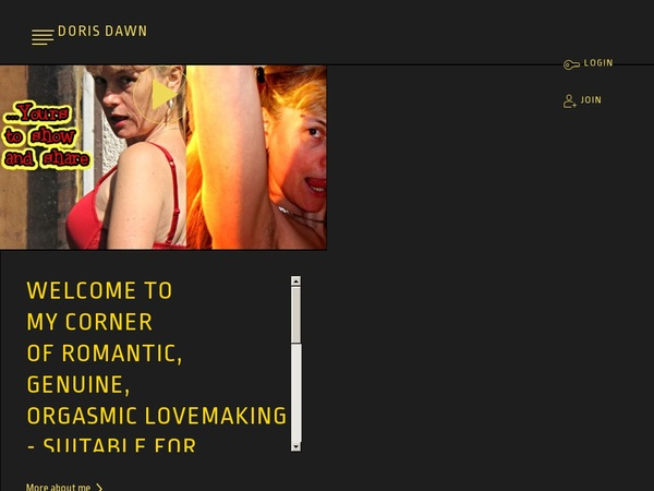 How To Join Doris Dawn For Free