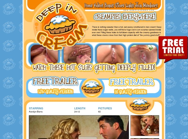 Deepincream.com Porn Pass
