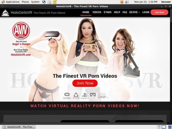 Holo Girls VR Member Access