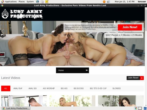 Lust Army Pussy