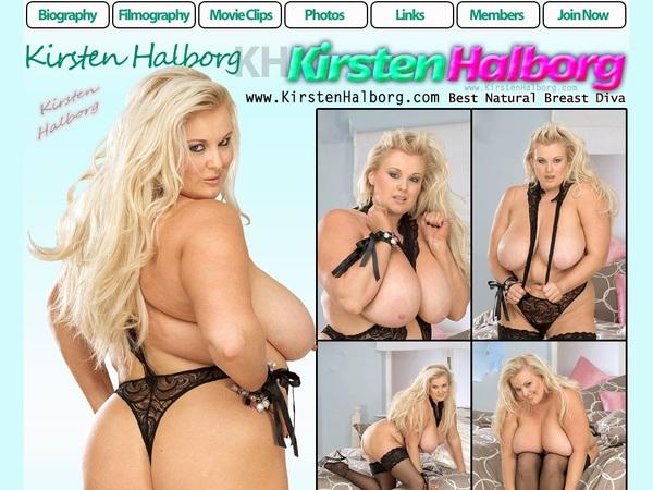 Pass For Kirsten Halborg