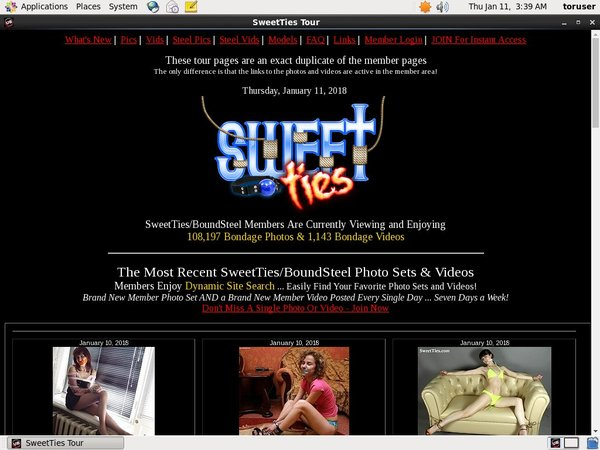 Sweetties.com Password Share