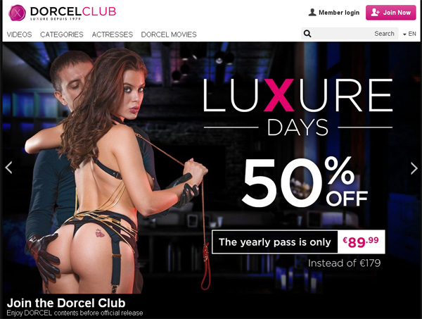 Dorcel Club Latest