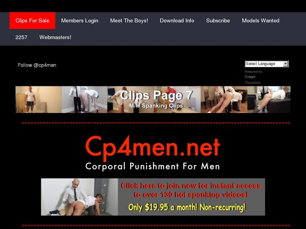 Free Cp4men Account Logins