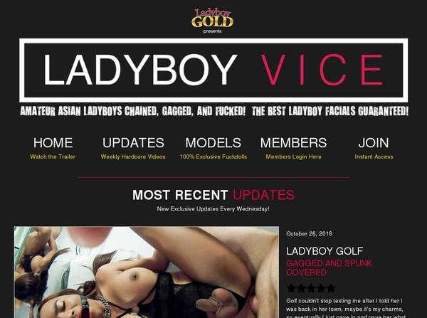 Ladyboy Viceaccountsfree