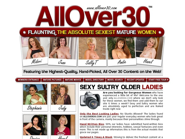 New Free Allover30 Accounts